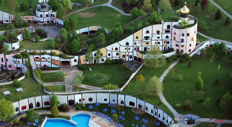 Kompleks hotelowy w Bad Blumau (Austria)