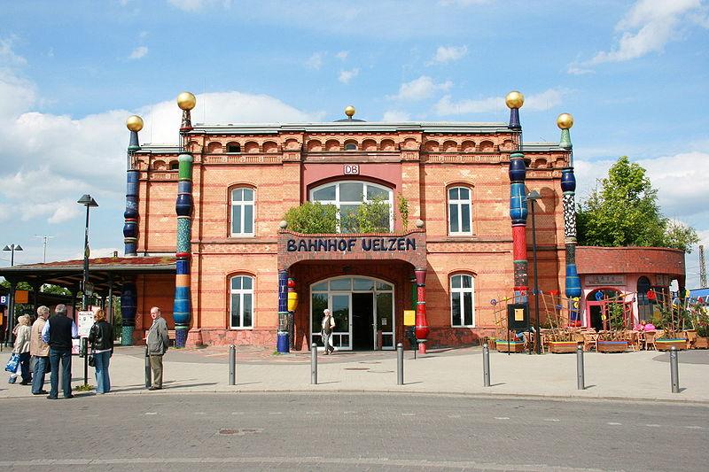 Dworzec w Uelzen (Niemcy)