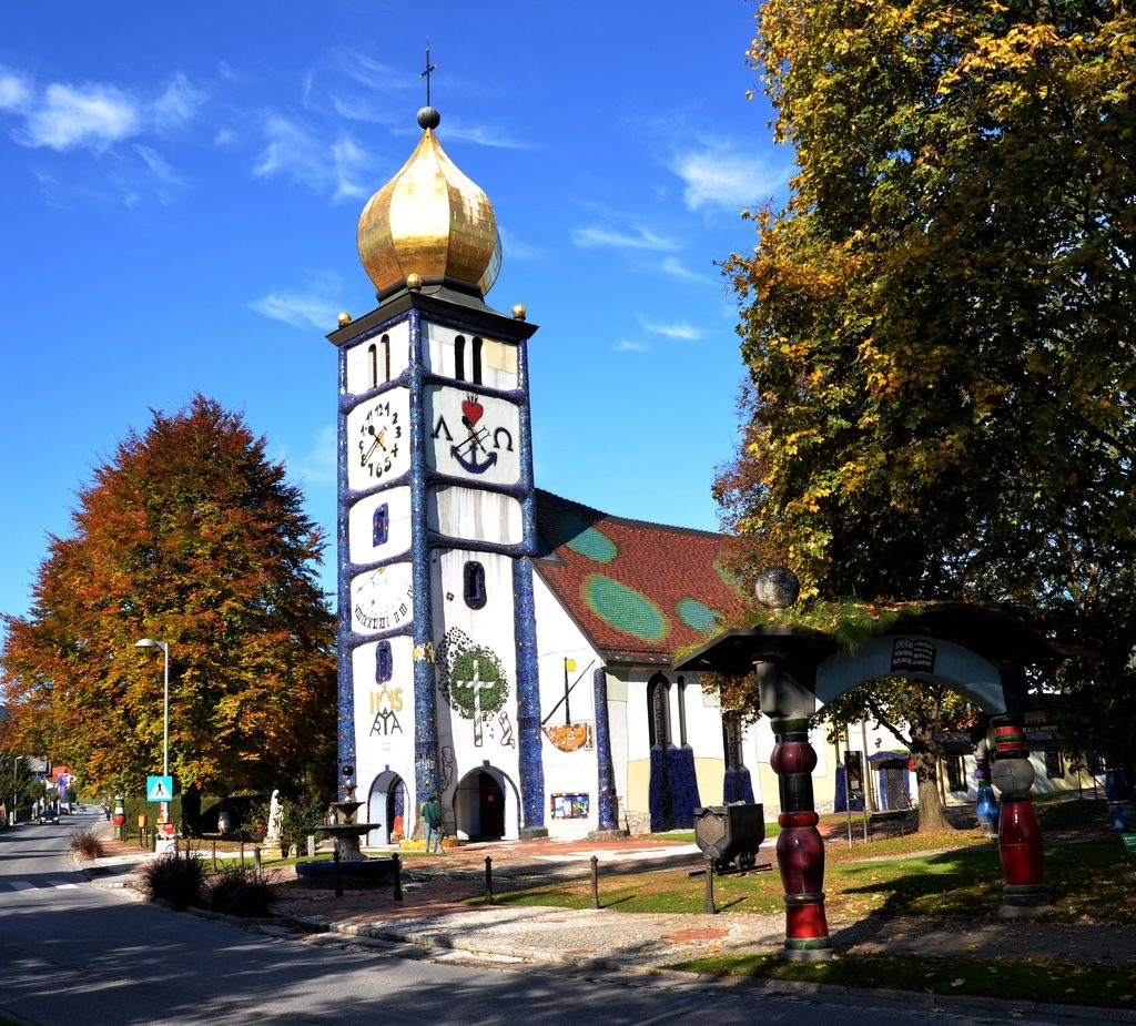 Kościół św. Barbary w Barnbach (Austria)